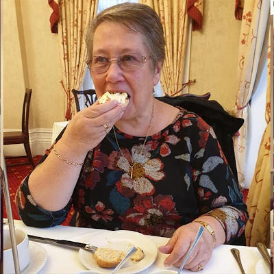 Afternoon tea for Carol